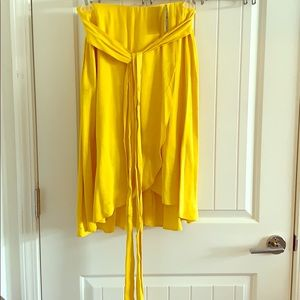You'll bring the sunshine with brilliant yellow #
